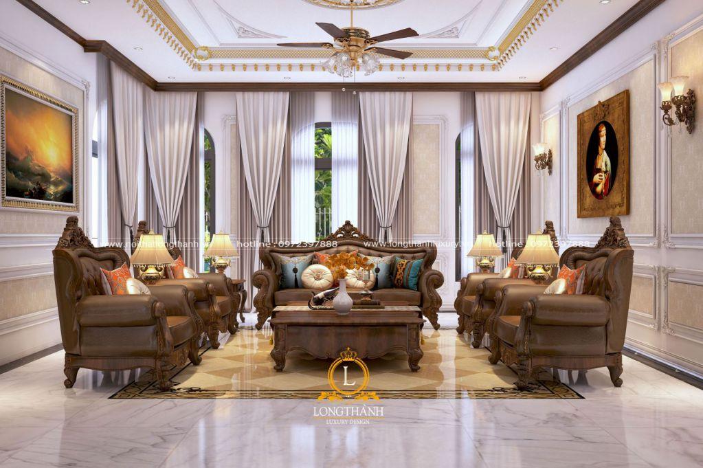 Phòng khách biệt thự đẹp LT29