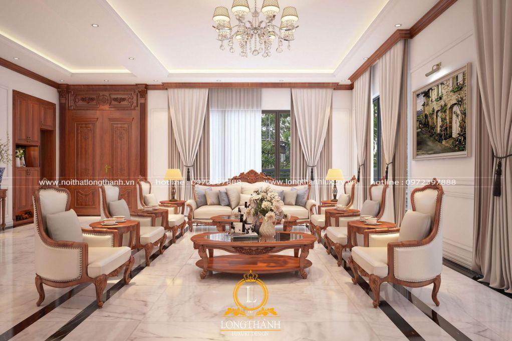 Tổng hợp những không gian nội thất tân cổ điển đẹp nhất năm 2020