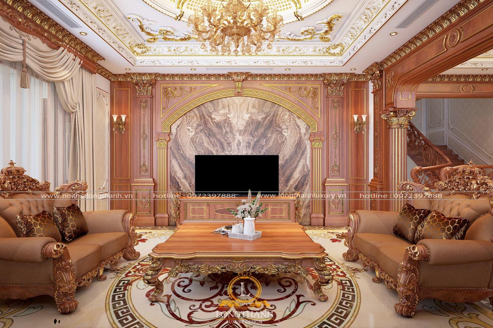 Đẹp - Sang trọng - Phong cách là những từ cần nói về sofa tân cổ điển