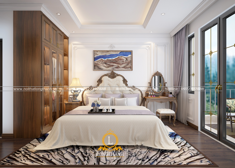 Độc đáo phong cách với mẫu phòng ngủ hiện đại cao cấp