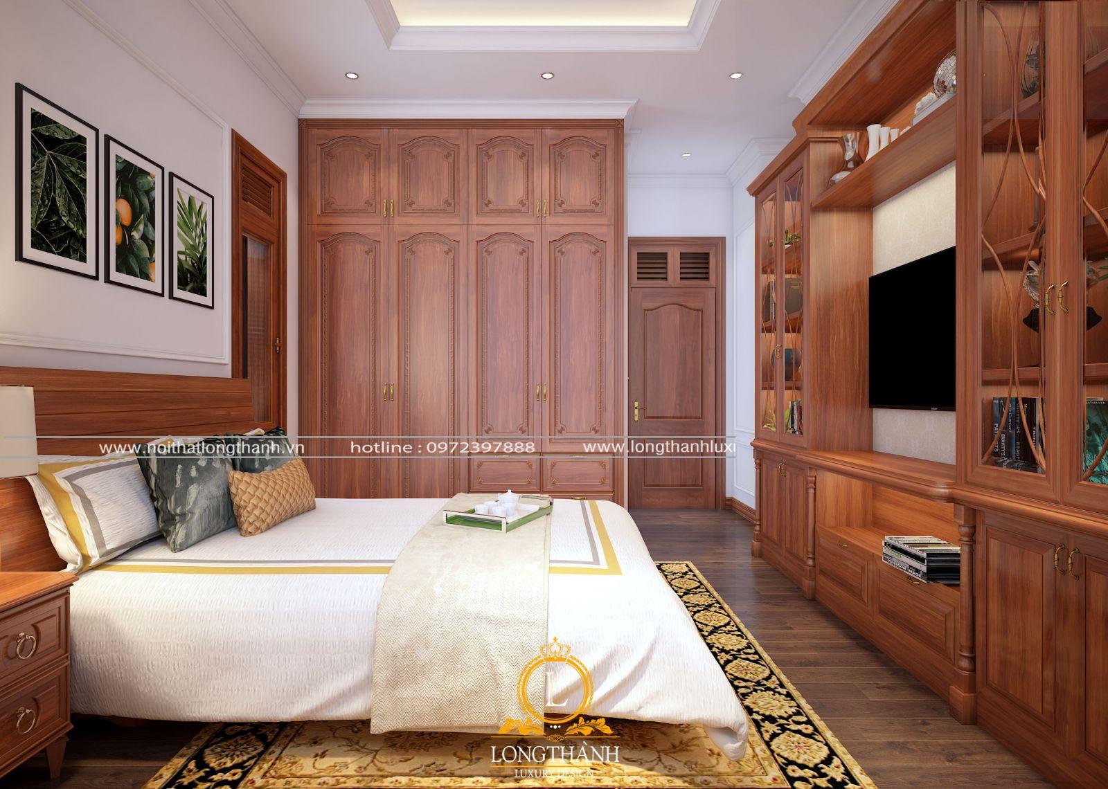 Thiết kế nội thất biệt thự hiện đại đẹp với sự hài hòa tone màu