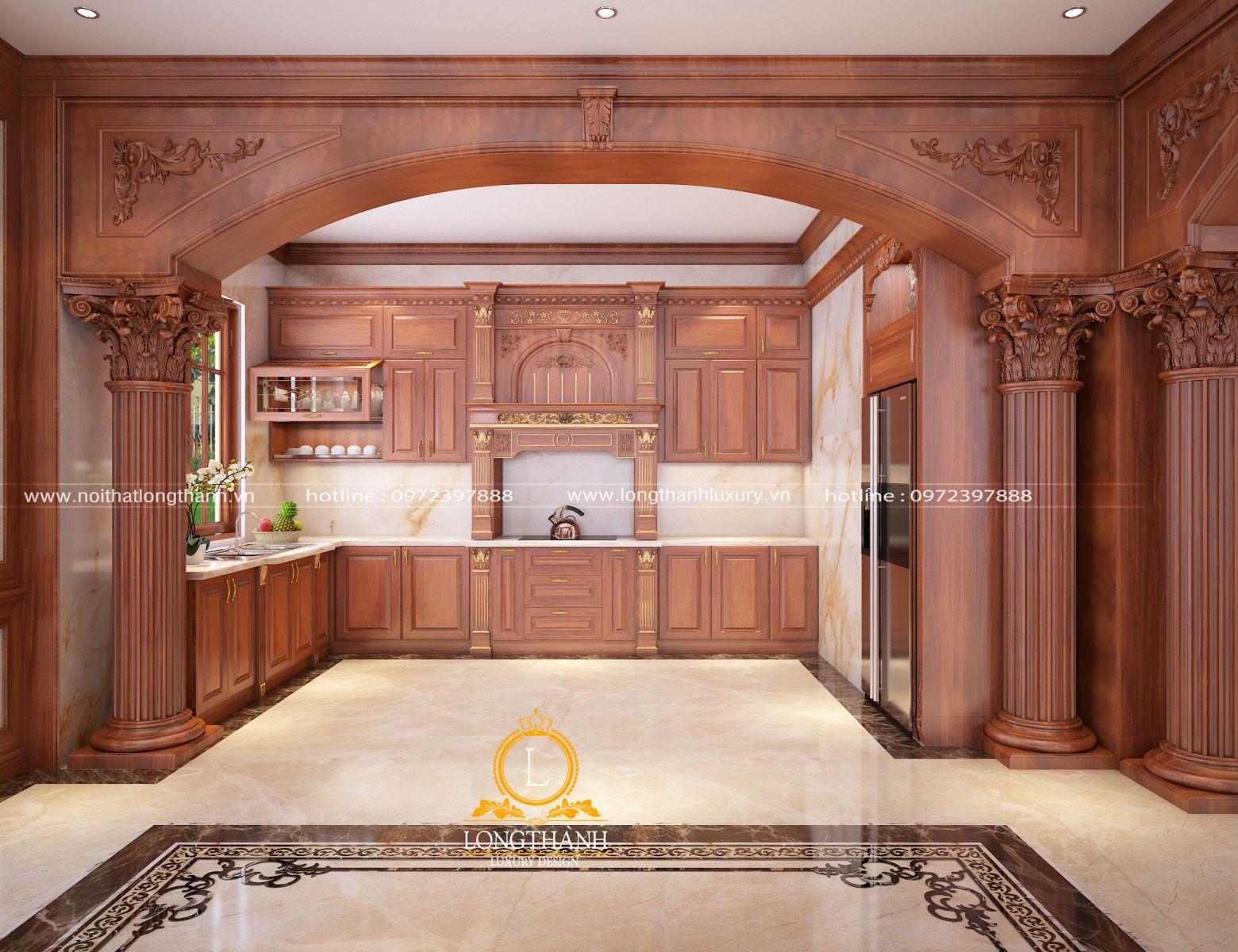 Sự kết hợp màu sắc, phong cách giữa nội thất và kiến trúc