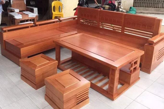 Bàn ghế gỗ xoan đào đẹp