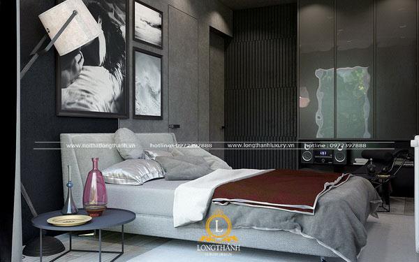 Bộ giường ngủ tạo điểm nhấn ấn tượng  trong không gian