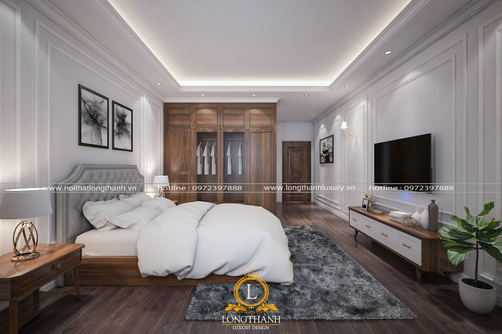 Bộ giường tủ giữ trò chủ đạo trong thiết kế nội thất phòng ngủ