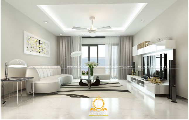 Thiết kế không gian nội thất tối giản cho nhà chung cư