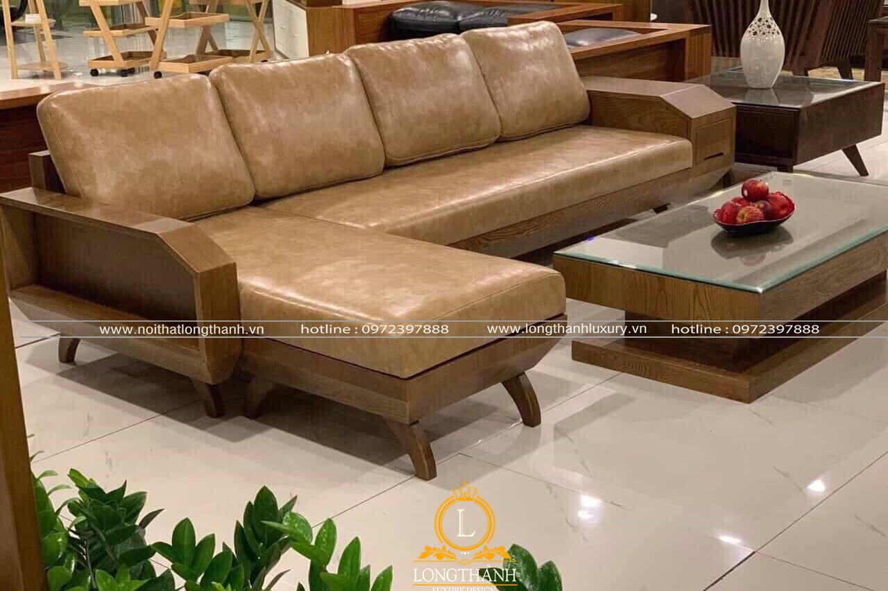 Bộ sofa hiện đại cũng là phương án được nhiều khách hàng lựa chọn khi ghé thăm showroom