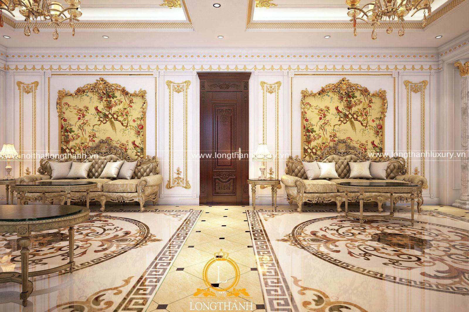 Thiết kế sofa cổ điển mang đến sự quý tộc, đẳng cấp cho không gian