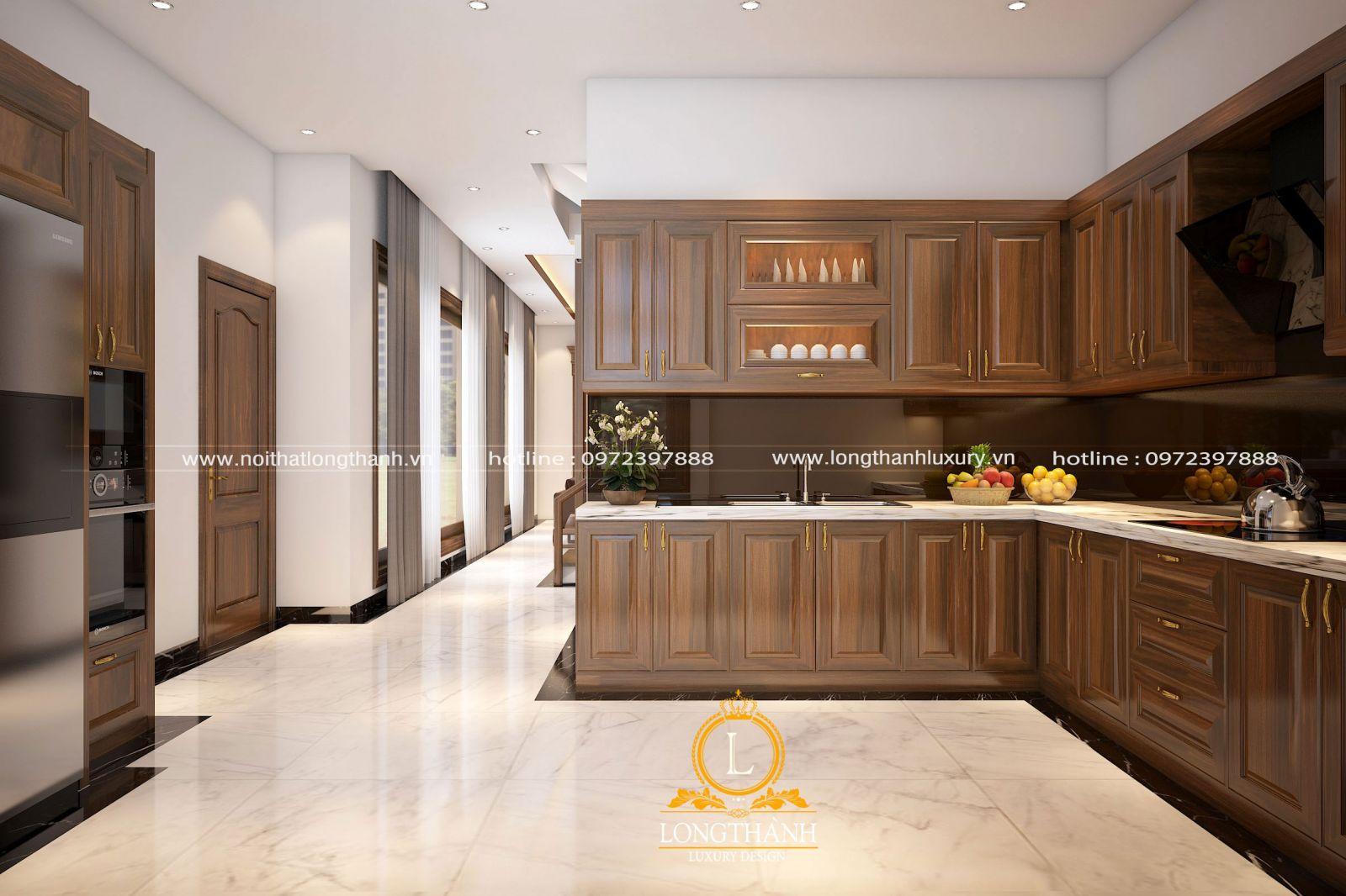 Màu sắc sử dụng trong nhà bếp cũng được cân nhắc lựa chọn phù hợp mệnh gia chủ