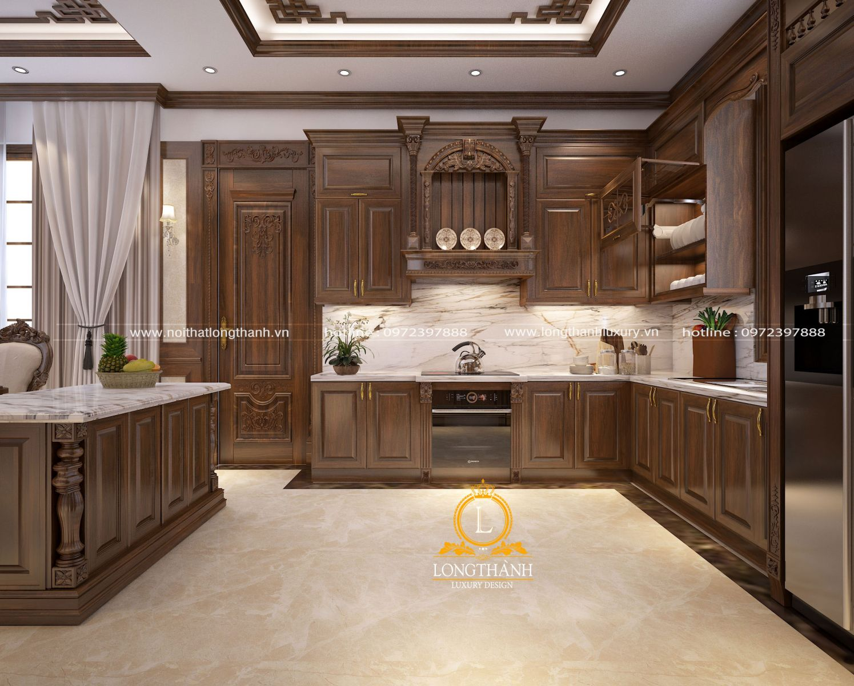 Bộ tủ bếp với chất lượng vượt trội