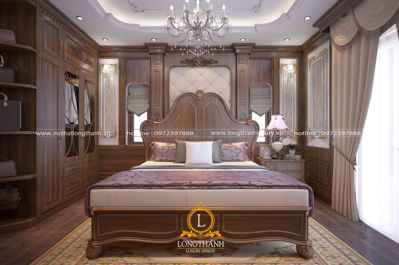 Căn phòng ngủ cao cấp tinh tế