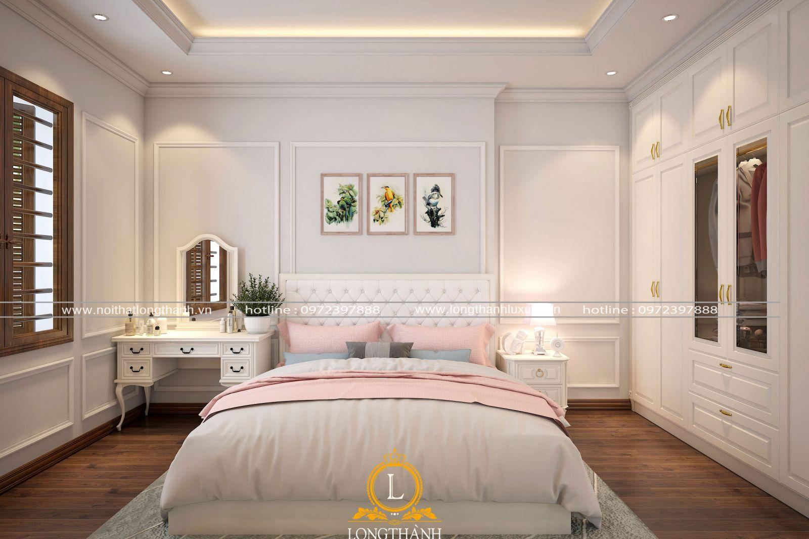 Căn phòng ngủ cho bé bố trí tỉ lệ vàng