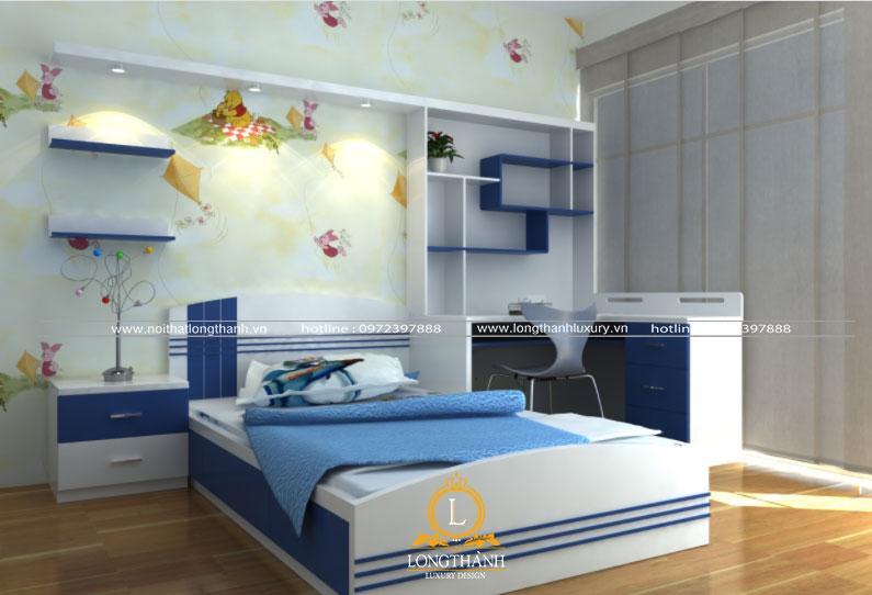 Căn phòng ngủ cho bé trai đẹp