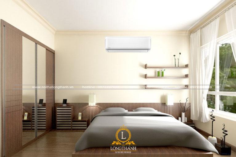 Căn phòng ngủ hiện đại cho anh chàng độc thân
