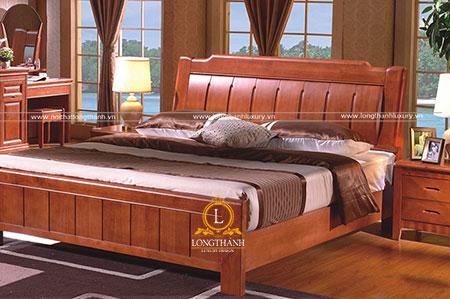 Chiếc giường ngủ đẹp chắc chắn được làm từ gỗ Cẩm Lai