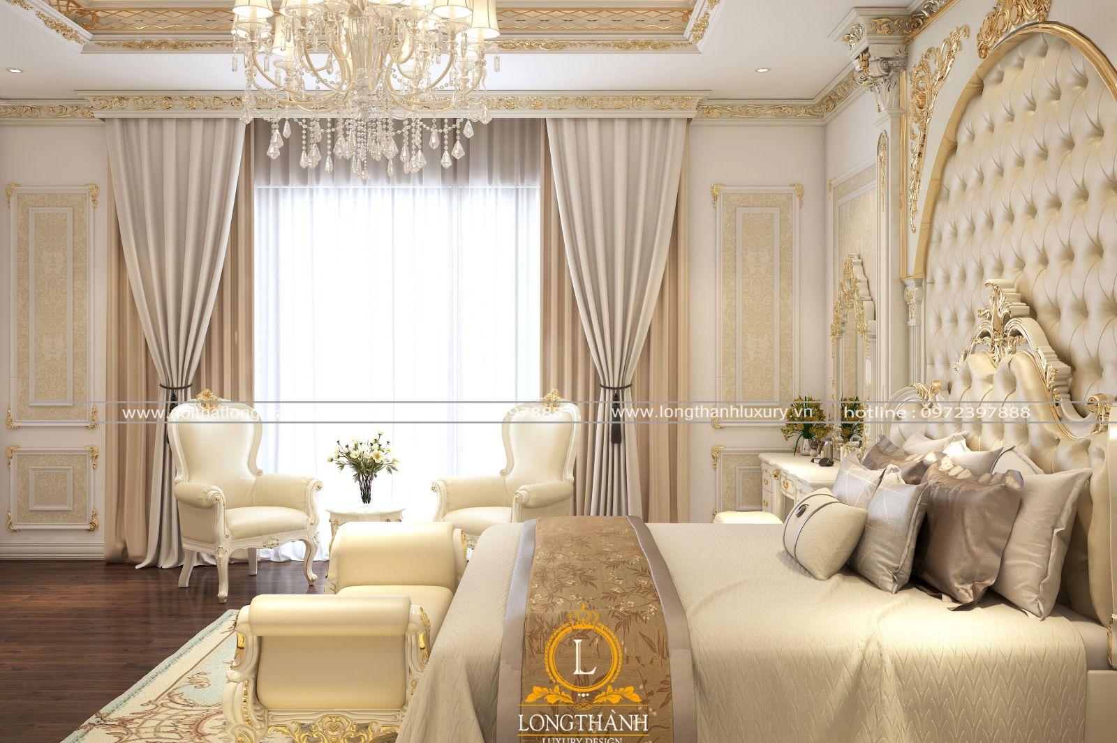 Đèn trang trí cho phòng ngủ màu trắng