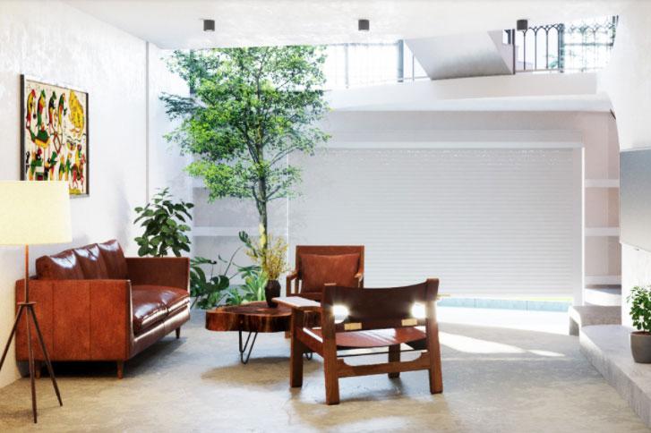 Đồ nội thất được lựa chọn đơn giản