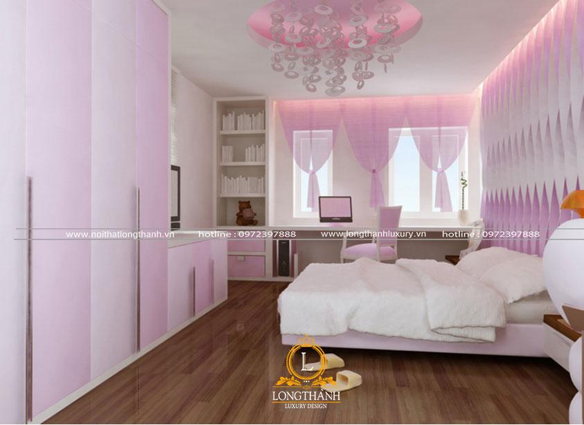 Gam màu hồng tinh tế nhẹ nhàng