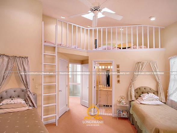Gam màu nhẹ nhàng cho phòng ngủ hiện đại