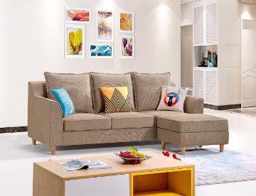 Mẫu sofa bed đẹp với gam màu nhẹ nhàng