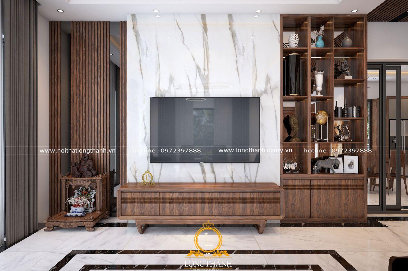 Kệ tivi cho phòng khách hiện đại