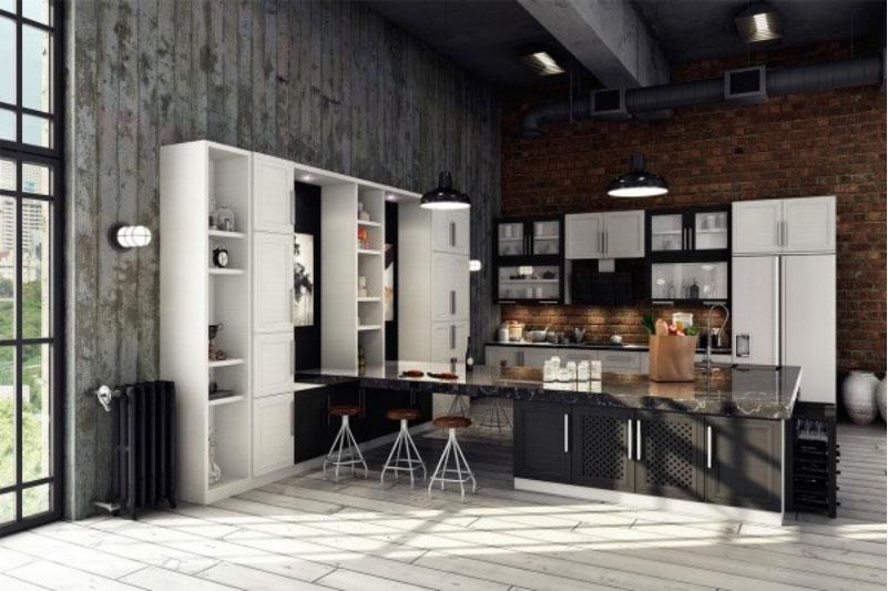 Không gian bếp đẹp ấn tượng