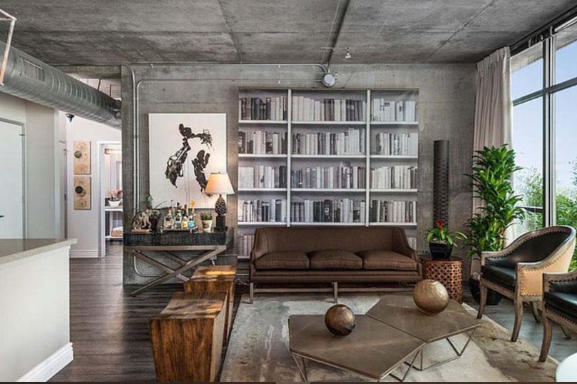 Không gian nội thất được thiết kế mở