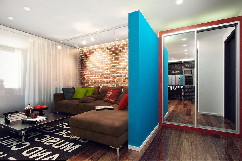 Không gian nội thất trẻ trung