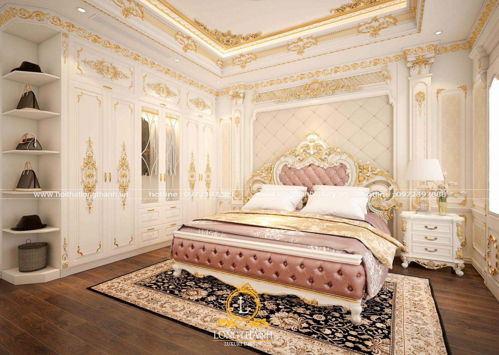Không gian phòng ngủ đẳng cấp cho chủ nhân xứng tầm