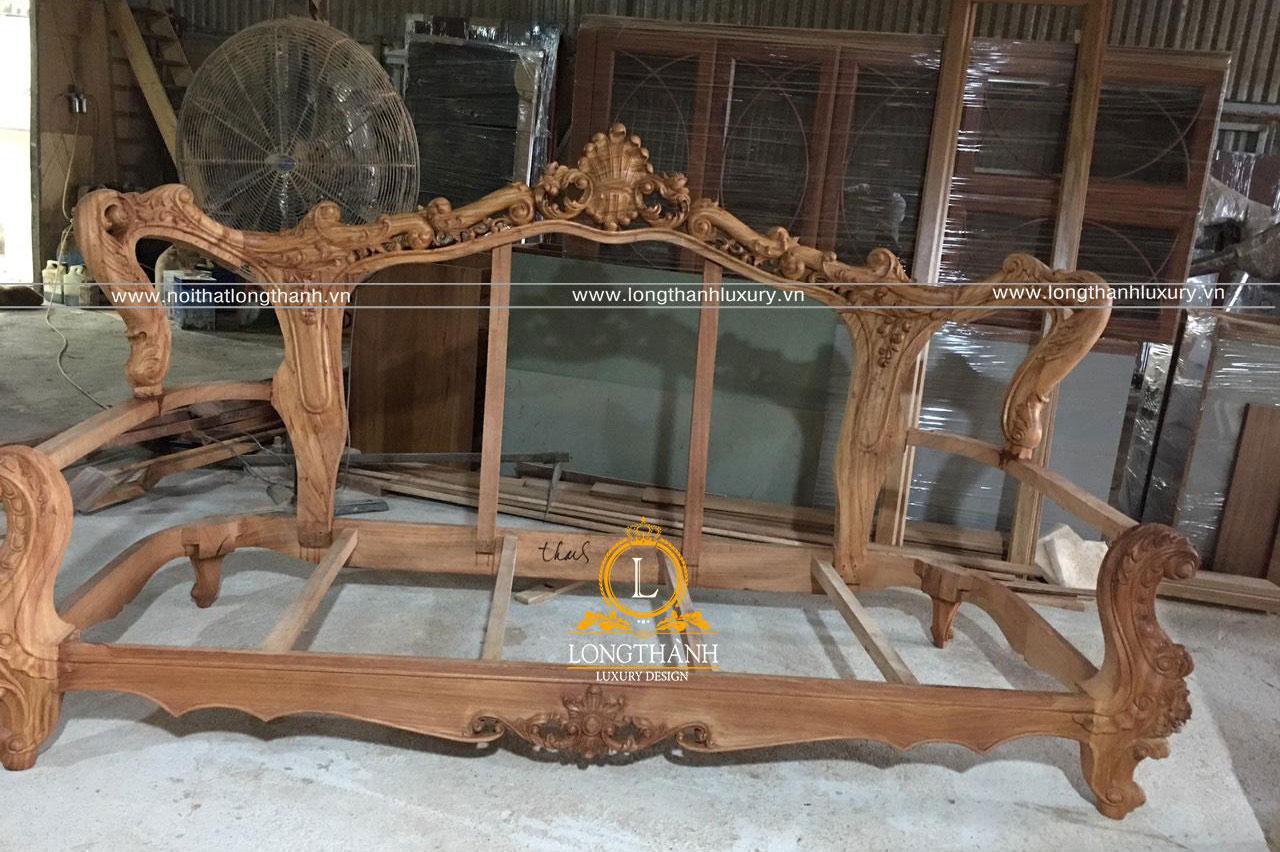 Sofa tân cổ điển được sản xuất trực tiếp tại nhà xưởng