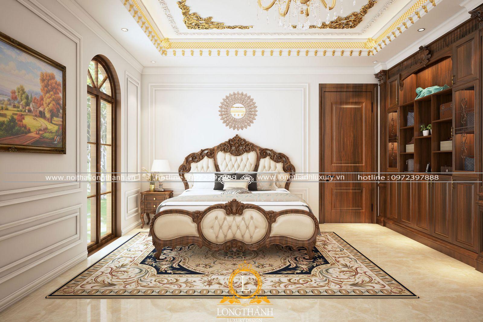 Mẫu phòng ngủ sang trọng và  đặc trưng