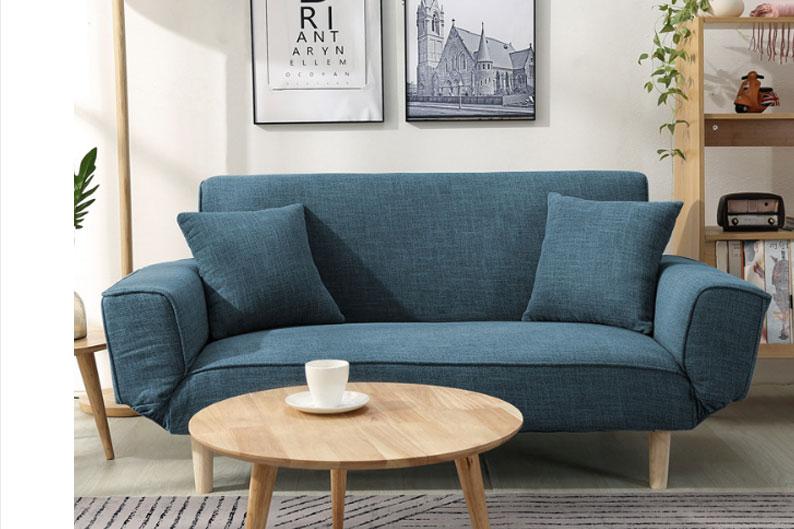 Mẫu sofa lười được bố trí phòng khách