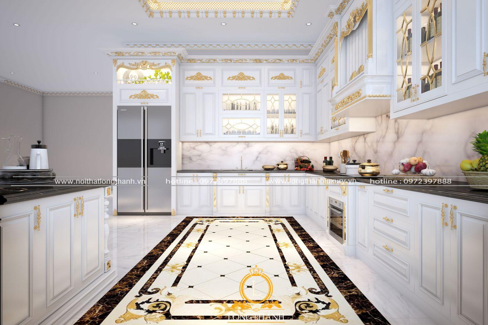 Mẫu tủ bếp đẹp ấn tượng