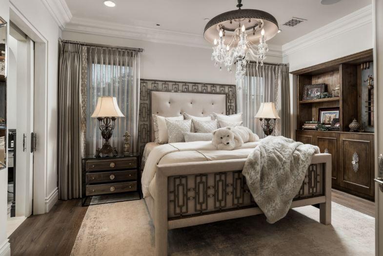 Nét đẹp Pháp hiện lên không gian phòng ngủ biệt thự mang đến những giấc ngủ ngon hơn
