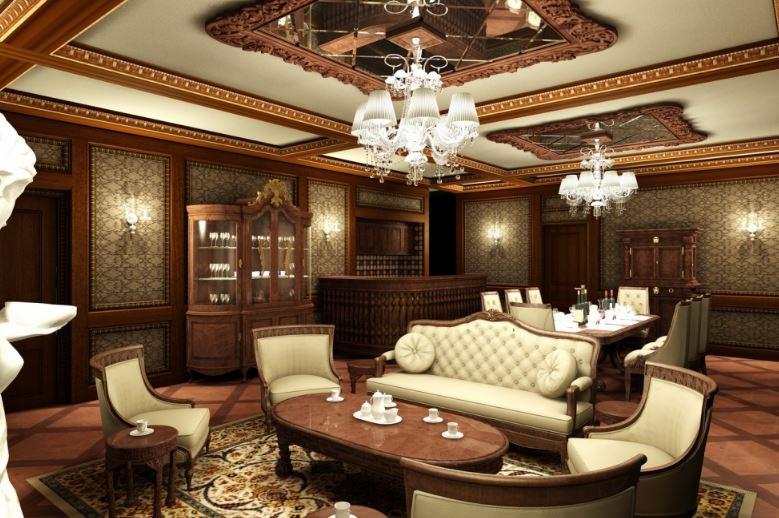 Không gian biệt thự ấn tượng với nội thất gỗ tự nhiên