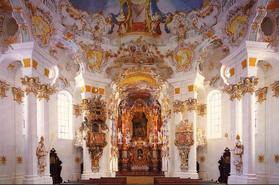 Nhà thờ phong cách rococo