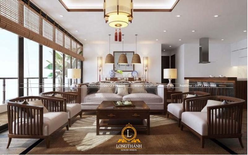 Nội thất gỗ cho phòng khách đẹp