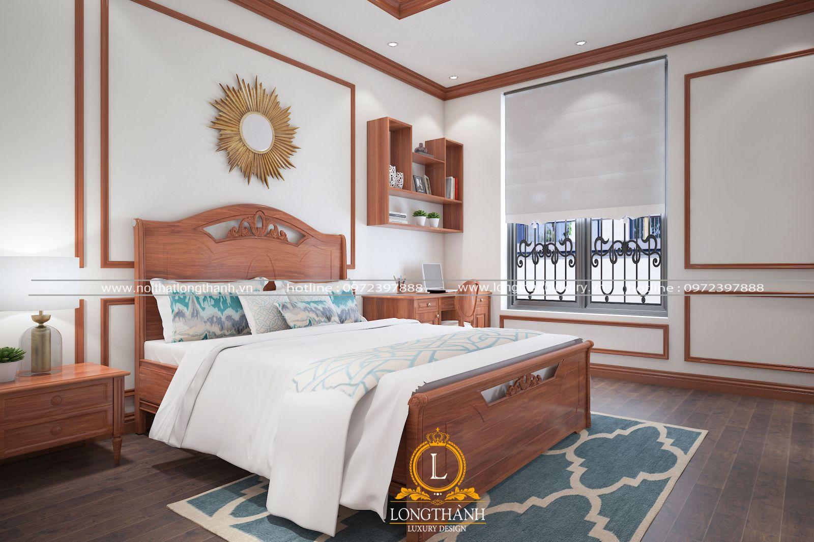 Phào gỗ được sử dụng trang trí trần tường