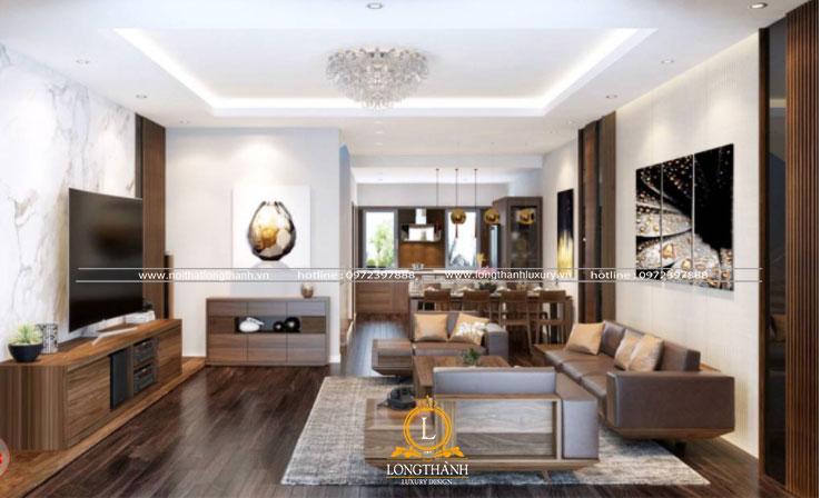 Tìm hiểu và tham khảo một số mẫu thiết kế phòng khách nhà phố hiện đại