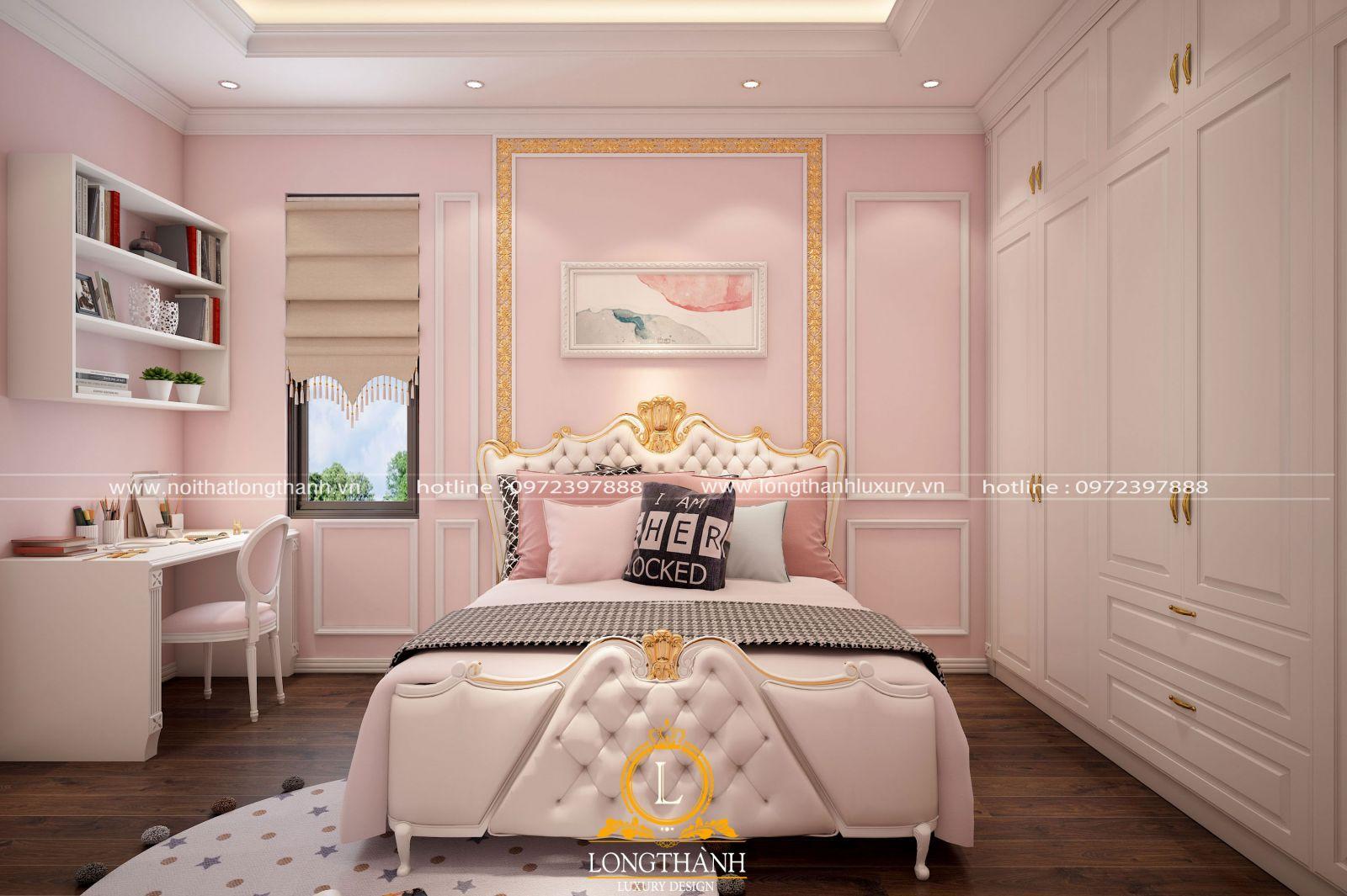 Phòng ngủ bé gái cao cấp
