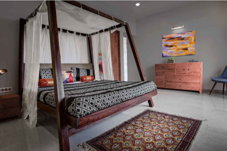 Phòng ngủ cá tính ấn tượng