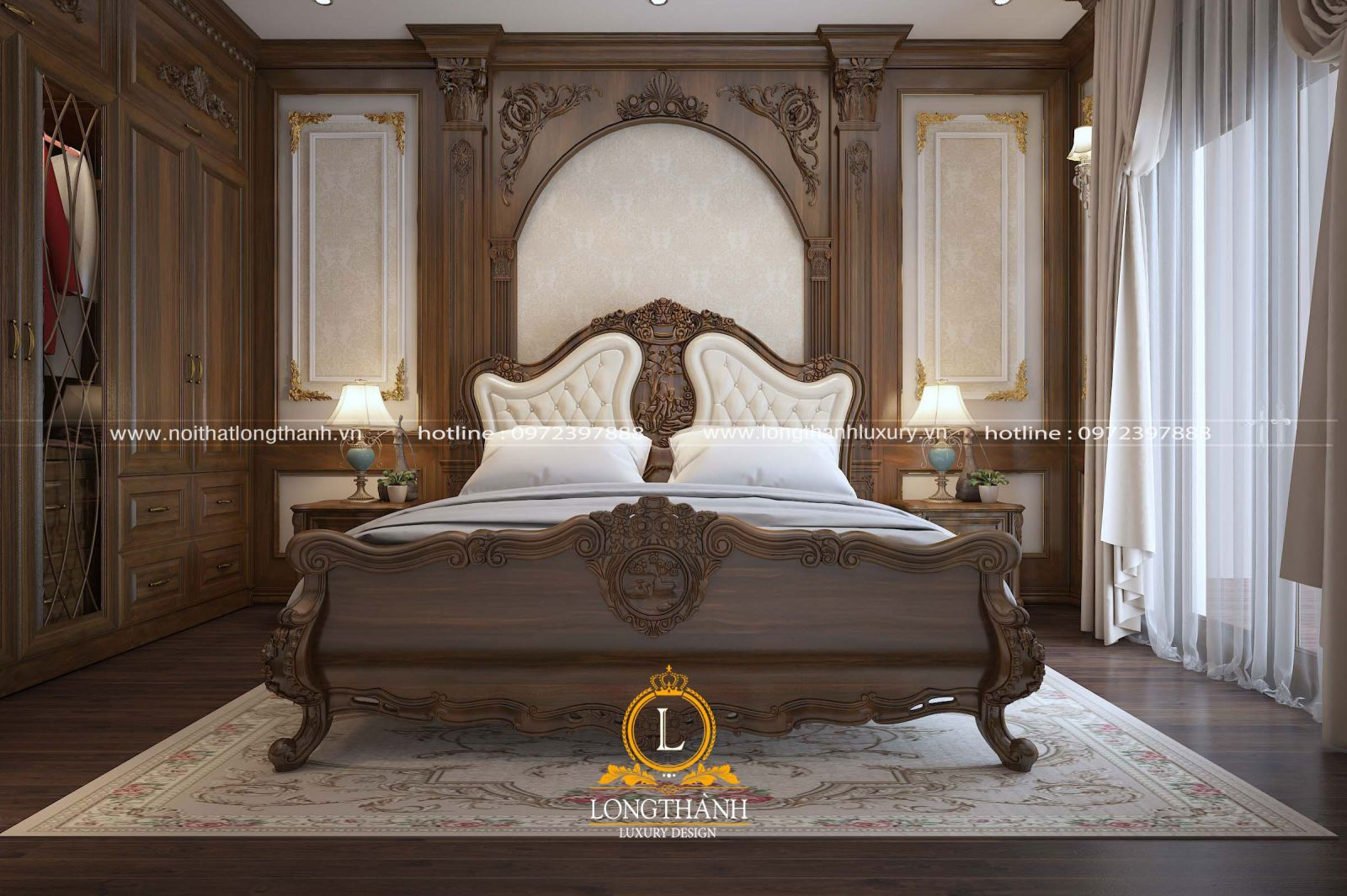 Phòng ngủ cao cấp cho chủ nhân