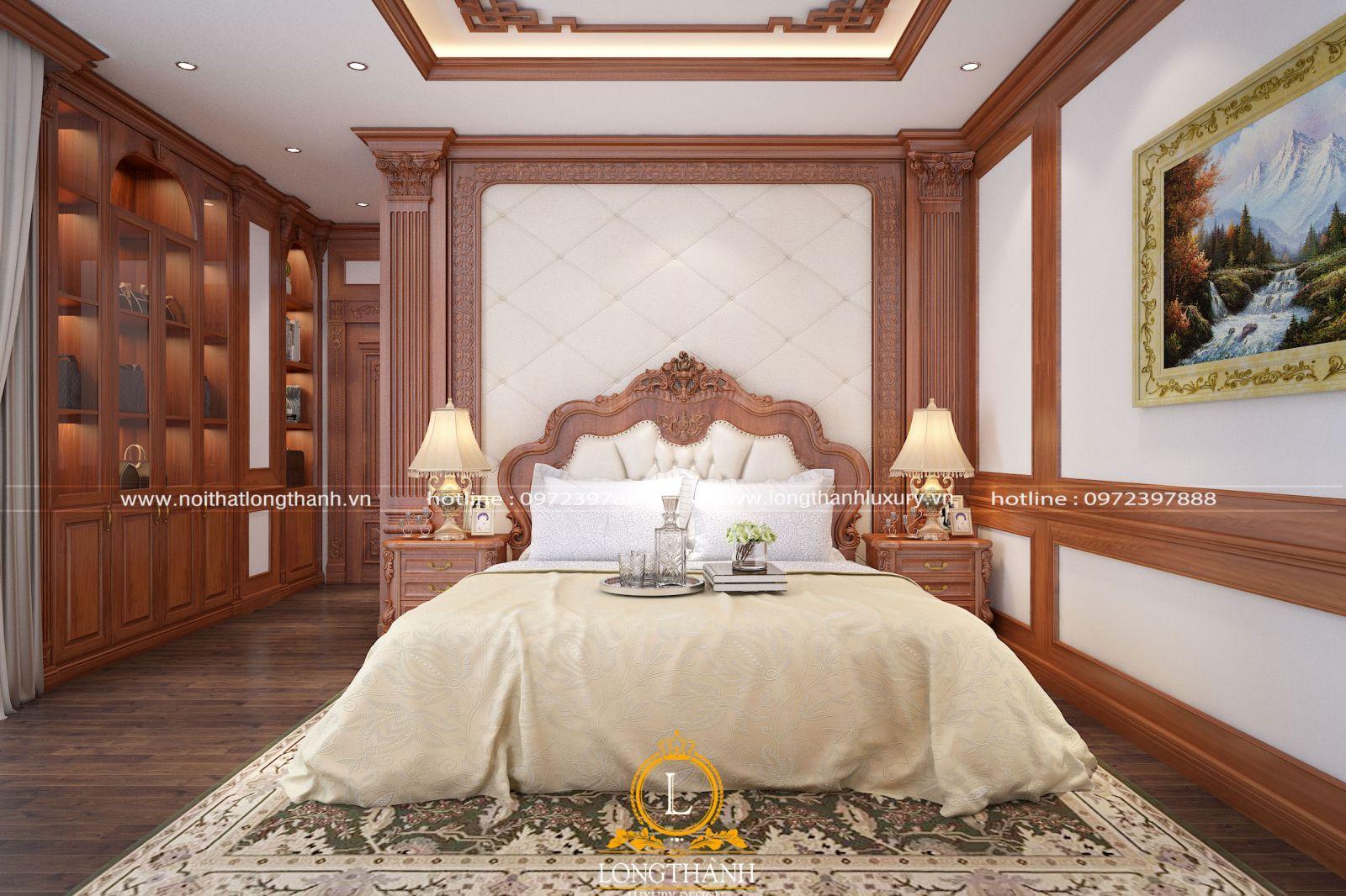 Nội thất phòng ngủ cao cấp được thiết kế khoa học và tiện nghi
