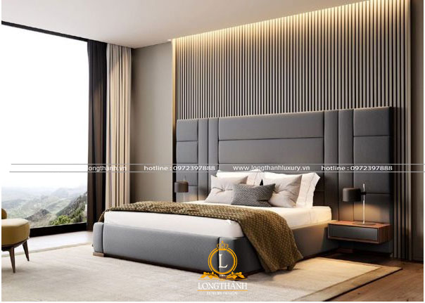 Phòng ngủ cao cấp với hệ ban  công thoáng