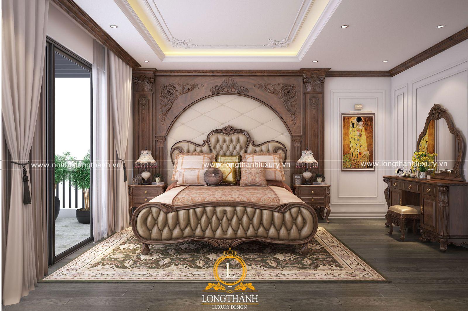 Phòng ngủ cao cấp cho biệt thự sang trọng