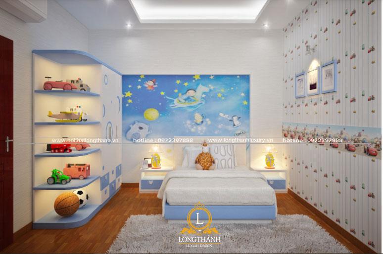 Phòng ngủ con trai hiện đại đơn giản