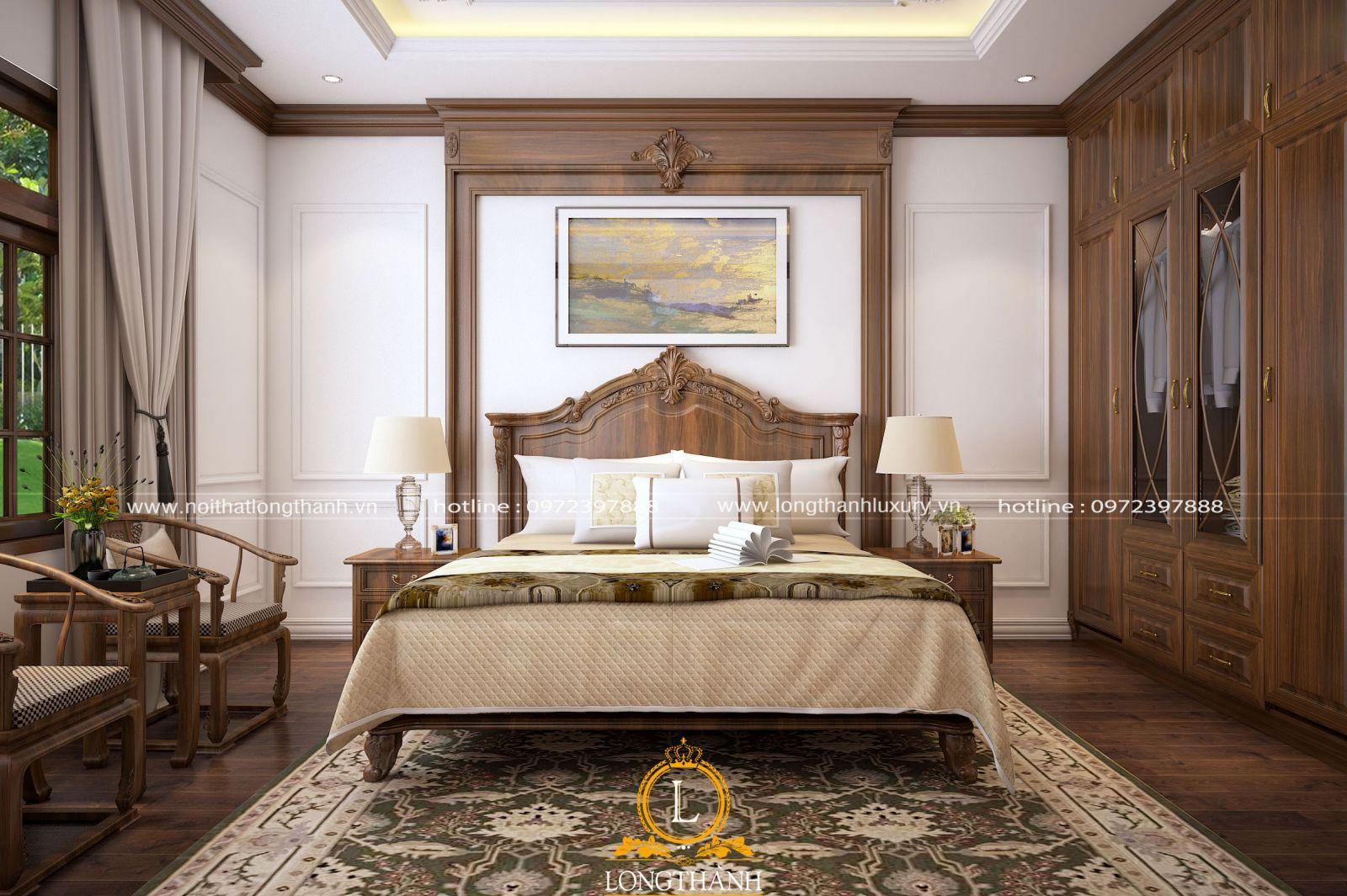 Phòng ngủ đẹp thiết kế tiện nghi
