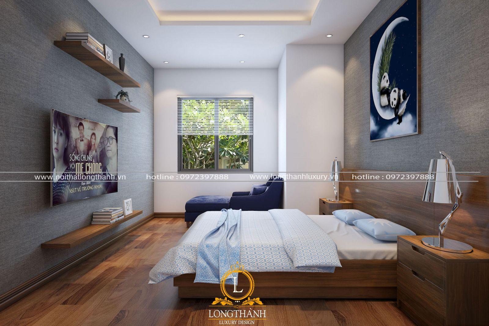 Phòng ngủ hiện đại đẹp và trẻ trung