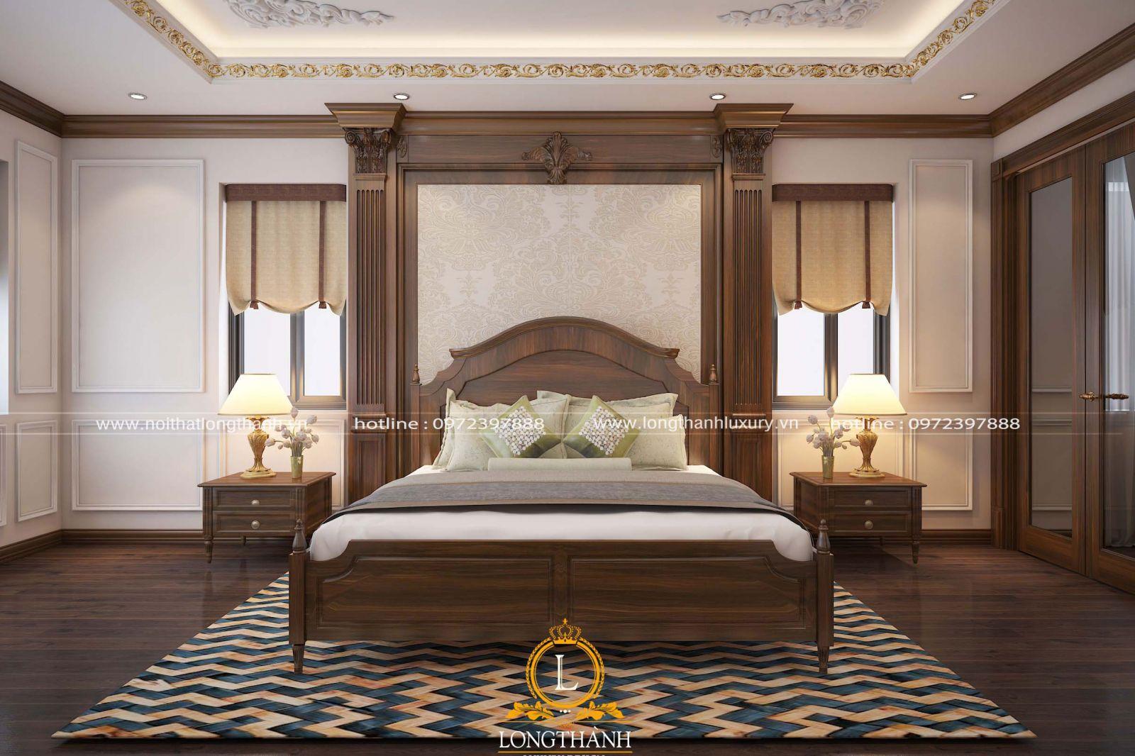 Phòng ngủ đơn giản tinh tế sang trọng