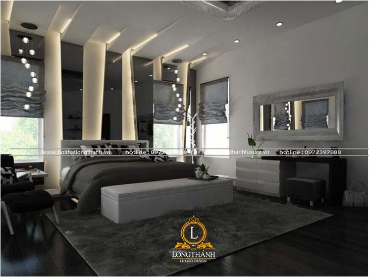 Phòng ngủ hiện đại cao cấp độc đáo